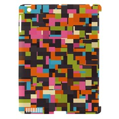Colorful Pixels Apple Ipad 3/4 Hardshell Case (compatible With Smart Cover) by LalyLauraFLM