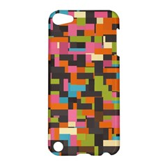 Colorful Pixels Apple Ipod Touch 5 Hardshell Case by LalyLauraFLM