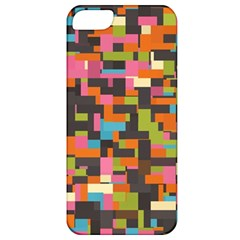 Colorful Pixels Apple Iphone 5 Classic Hardshell Case