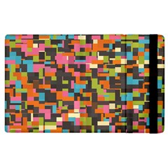 Colorful Pixels Apple Ipad 3/4 Flip Case