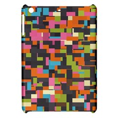 Colorful Pixels Apple Ipad Mini Hardshell Case by LalyLauraFLM