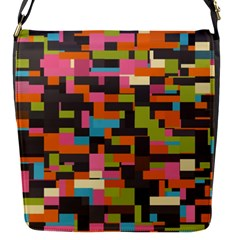 Colorful Pixels Removable Flap Cover (small)