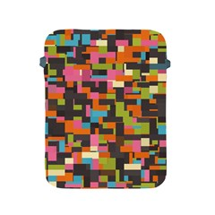 Colorful Pixels Apple Ipad 2/3/4 Protective Soft Case