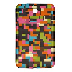 Colorful Pixels Samsung Galaxy Tab 3 (7 ) P3200 Hardshell Case