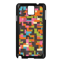 Colorful Pixels Samsung Galaxy Note 3 N9005 Case (black)
