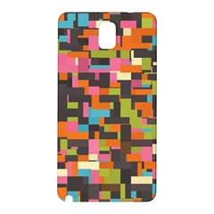 Colorful Pixels Samsung Galaxy Note 3 N9005 Hardshell Back Case
