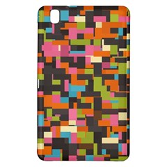 Colorful Pixels Samsung Galaxy Tab Pro 8 4 Hardshell Case by LalyLauraFLM