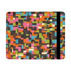 Colorful Pixels Samsung Galaxy Tab Pro 8 4  Flip Case