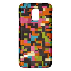 Colorful Pixels Samsung Galaxy S5 Mini Hardshell Case