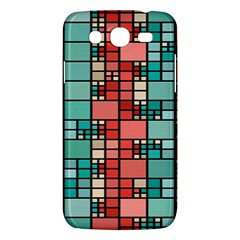 Red And Green Squares Samsung Galaxy Mega 5 8 I9152 Hardshell Case  by LalyLauraFLM