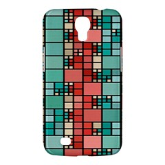 Red And Green Squares Samsung Galaxy Mega 6 3  I9200 Hardshell Case