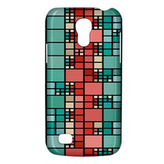 Red And Green Squares Samsung Galaxy S4 Mini (gt I9190) Hardshell Case