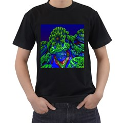 Abstract 1x Men s T Shirt (black)