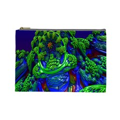 Abstract 1x Cosmetic Bag (large) by icarusismartdesigns