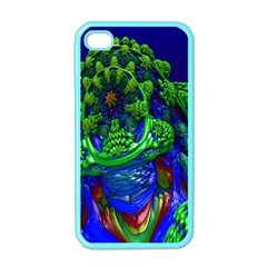 Abstract 1x Apple Iphone 4 Case (color)