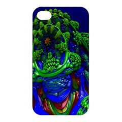 Abstract 1x Apple Iphone 4/4s Premium Hardshell Case by icarusismartdesigns