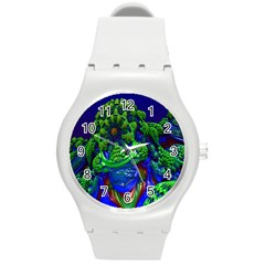 Abstract 1x Plastic Sport Watch (medium) by icarusismartdesigns