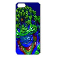 Abstract 1x Apple Seamless Iphone 5 Case (clear)