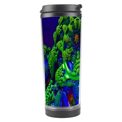 Abstract 1x Travel Tumbler by icarusismartdesigns