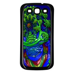 Abstract 1x Samsung Galaxy S3 Back Case (black)