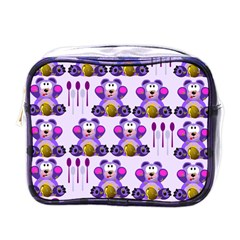 Fms Honey Bear With Spoons Mini Travel Toiletry Bag (one Side) by FunWithFibro