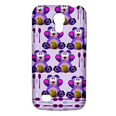 Fms Honey Bear With Spoons Samsung Galaxy S4 Mini (gt I9190) Hardshell Case  by FunWithFibro