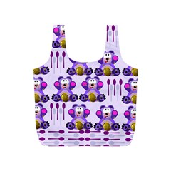 Fms Honey Bear With Spoons Reusable Bag (s) by FunWithFibro