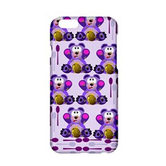 Fms Honey Bear With Spoons Apple Iphone 6 Hardshell Case by FunWithFibro