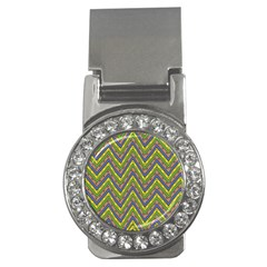 Zig Zag Pattern Money Clip (cz)