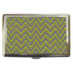 Zig Zag Pattern Cigarette Money Case by LalyLauraFLM