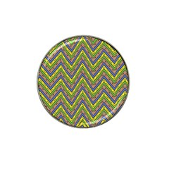 Zig Zag Pattern Hat Clip Ball Marker (4 Pack) by LalyLauraFLM