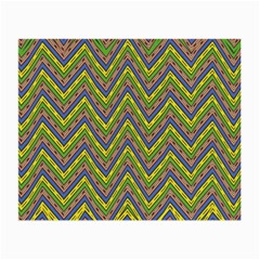 Zig Zag Pattern Glasses Cloth (small) by LalyLauraFLM