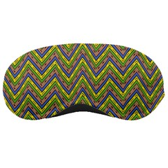 Zig Zag Pattern Sleeping Mask
