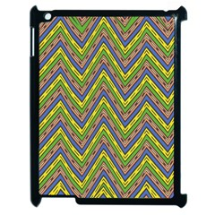 Zig Zag Pattern Apple Ipad 2 Case (black)