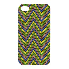 Zig Zag Pattern Apple Iphone 4/4s Hardshell Case