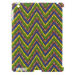 Zig Zag Pattern Apple Ipad 3/4 Hardshell Case (compatible With Smart Cover) by LalyLauraFLM