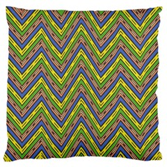 Zig Zag Pattern Large Cushion Case (two Sides)