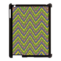 Zig Zag Pattern Apple Ipad 3/4 Case (black)