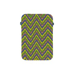 Zig Zag Pattern Apple Ipad Mini Protective Soft Case by LalyLauraFLM