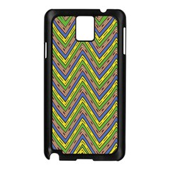 Zig Zag Pattern Samsung Galaxy Note 3 N9005 Case (black)