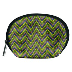 Zig Zag Pattern Accessory Pouch (medium)
