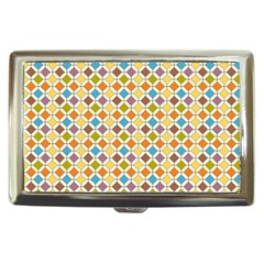 Colorful Rhombus Pattern Cigarette Money Case