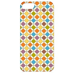 Colorful Rhombus Pattern Apple Iphone 5 Classic Hardshell Case by LalyLauraFLM