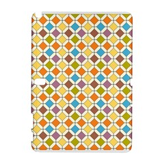 Colorful Rhombus Pattern Samsung Galaxy Note 10 1 (p600) Hardshell Case by LalyLauraFLM