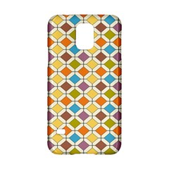 Colorful Rhombus Pattern Samsung Galaxy S5 Hardshell Case  by LalyLauraFLM