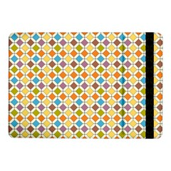 Colorful Rhombus Pattern Samsung Galaxy Tab Pro 10 1  Flip Case