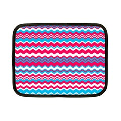 Waves Pattern Netbook Case (small) by LalyLauraFLM