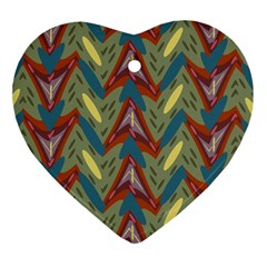 Shapes Pattern Ornament (heart) by LalyLauraFLM