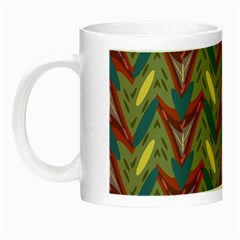 Shapes Pattern Night Luminous Mug