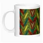 Shapes pattern Night Luminous Mug Left